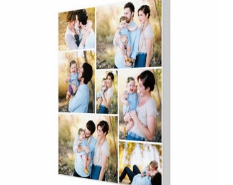 Personalized Photo Canvas Print, 20x24, Canvas Art, Photo On Canvas, Family Photo Canvas, Wall Art, Decor, Collage, Gift, Canvas Print