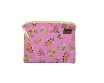 Snack Size Reusable Bag - Princess Crowns