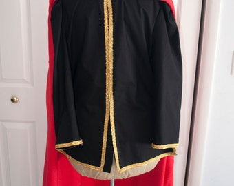 Cosplay tunic and cloak costume anime video game character costuming custom made to order