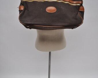 vintage duffle bag duffel bag  canvas bag BROOKS BROTHERS vintage duffle bag duffel bag