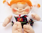 Soft Sculpture Funny Doll  Baby Whimsical