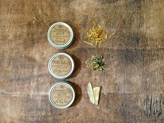 Herbal Salve Set - Claire's Salves. Inspired by Diana Gabaldon's Best Selling Novels the Outlander Series
