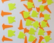 Construction Die Cut Confetti-Set of 200