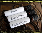 MEN OF MYTH: Perfume Sample Set of three vials, mens fragrance, perfume samples, Fathers Day