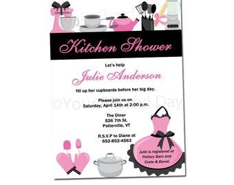 PRINTABLE Kitchen Bridal Shower Invitation #808