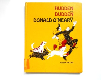 Hudden and Dudden and Donald O'Neary, a Vintage Children's Book