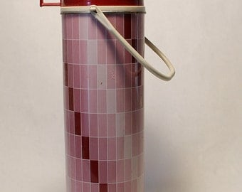 Lovely Pink Thermos 1970's