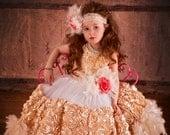 Petal Roses Forever Flower Girl Dress