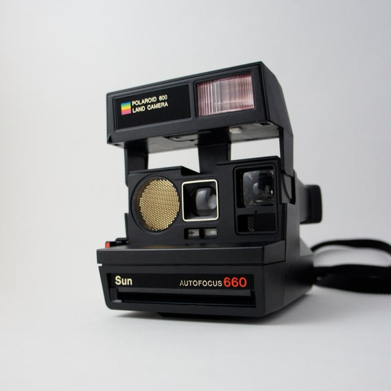 polaroid sun autofocus 660 land camera. Black Bedroom Furniture Sets. Home Design Ideas
