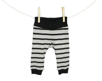 Baby leggings, bamboo eco friendly baby pants, gender neutral baby clothes