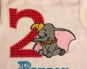 Dumbo Inspired Birthday Shirt