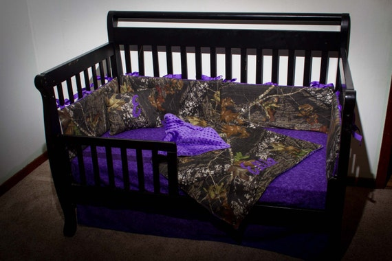 Custom 4 Piece Mossy Oak Bedding Hunter Camo Camouflage Crib