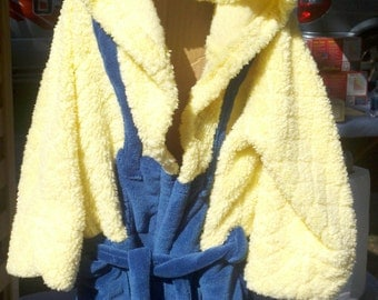 Minion bathrobe- adult