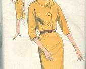 Vintage Sewing Pattern Advance 3002 Ladies 60s Dress & Jacket
