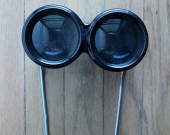 Antique late 1800's/early 1900's French Binoculars Opera Glasses by Autocrat Sport 4x