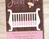 BABY SHOWER CHIC Baby Shower Invitation - You Print
