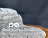 Little flying aliens - Hand Drawn Earrings