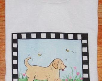 Golden Retriever Puppy T shirt