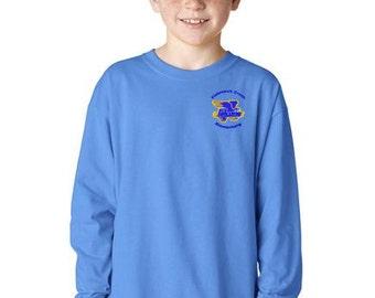 FishHawk Creek Elementary Uniform Standard Cotton LONGSLEEVE T-Shirt Youth & Adult 4 Colors to Choose From