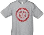 5th Birthday Shirt - American Superhero Birthday Party -  Distressed Graphic - Personalized Birthday Shirt - Choose your birthday number