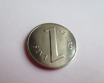 Parity Coin - Coin for Luck - Scrapbooking - Original Presents - Supplies - Collectibles Coin - Numismatics - From bank roll - UNC
