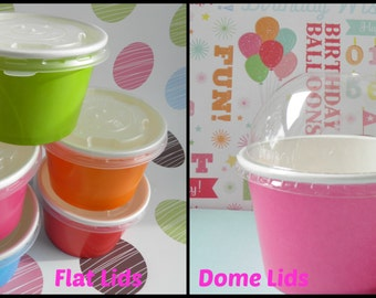 25 LIDS ONLY- For Ice Cream Cups