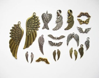 Wing Charm Collection - C1813