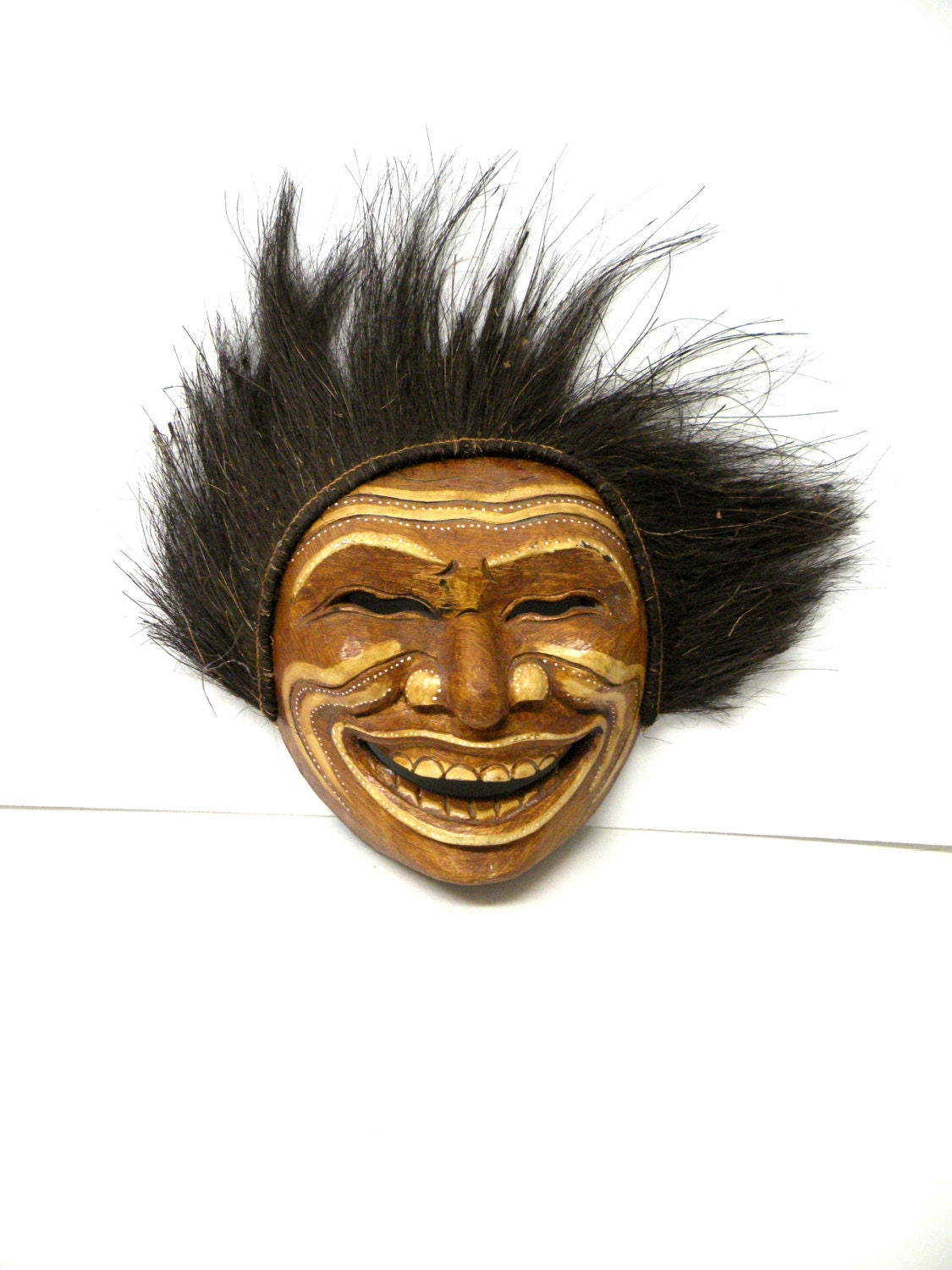 Witch Doctor Tribal Mask Cosplay African Culture Happy