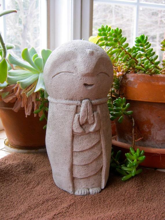 Jizo Statue Garden Jizo Statue Buddha Concrete