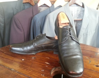 60s Mod Chisel Toe Oxford Floresheim shoes Brown size 11b like Beatles wore