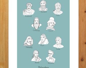 Philosopher print