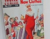The Emperor's New Clothes Vintage comic book