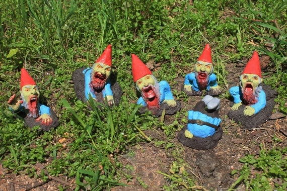 zombiegnomes - Zombie Gnomes: The Rising Herd
