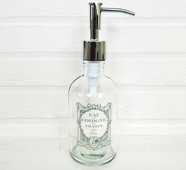 Hand Soap Dispenser Paris Bathroom Decor French By Oneburchway