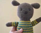 Peter the Puppy Dog Doggy Crochet Amigurumi Plush Animal Plushie Softie READY TO SHIP