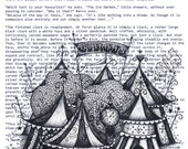 The Night Circus on Book Quotes Print A3
