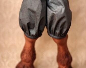 Super Gem Mottled Grey Hoof Shorts For SD BJD