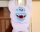 Abominable Snowman Door Hanger