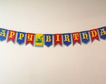 Medieval Knight Birthday Banner