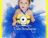 Infant- ONE(1) Eye Happy Face Inspired Tutu Dress
