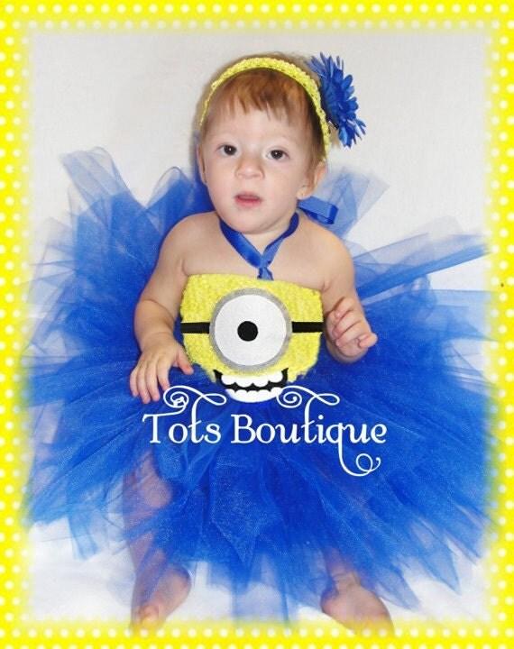 Infant- ONE(1) Eye Happy Face Inspired Tutu Dress