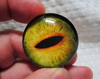 Glass eye 40mm cabochon dragon eye for jewelry making