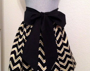 Cute Gameday Skirt for YourTrue Colors Black and Gold Saints  OR UCF