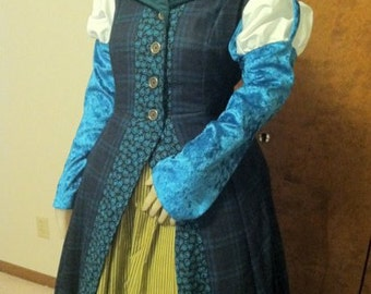 Doctor Who, Merida Steampunk Gown--- Renaissance Steampunk, Victorian Gown, Custom Made