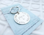 Pet ID Tag - Custom Dog Tag - Hand Stamped Dog Collar Charm - Personalized Pet - Custom