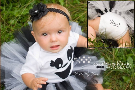 Like this item? - Ghost Tutu Halloween Costume-Baby Girl Ghost Costume-Ghost