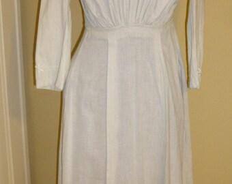 Dress Vintage Edwardian Lawn or Tea Dress