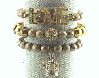 Cleopatra Stackable Bracelets