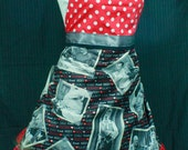 I Love Lucy print Apron