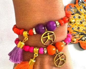 YOGA BRACELET, healing bracelet , energy bracelet ,  Chakra Bracelets,Meditation Jewelry, Bohemian Jewelry,Yoga Inspired